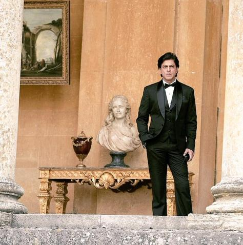Shah Rukh Khan at Bleinheim Palace for FAN