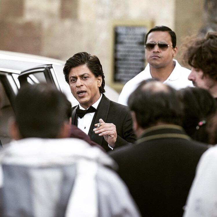 Shah Rukh Khan at Bleinheim Palace for FAN