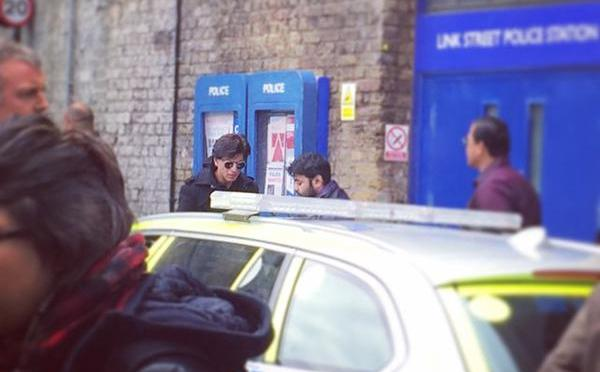 Spotted: SRK shoots for FAN at landmark London locations