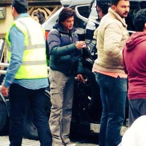 SRK shoots at Borough Market for FAN. Credit: Twitter