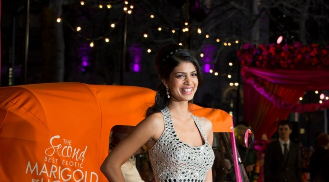 Interview: Tena Desae talks about 'The Second Best Exotic Marigold Hotel'