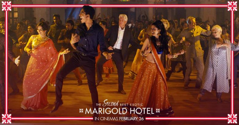 The Second Best Exotic Marigold Hotel Interview UK