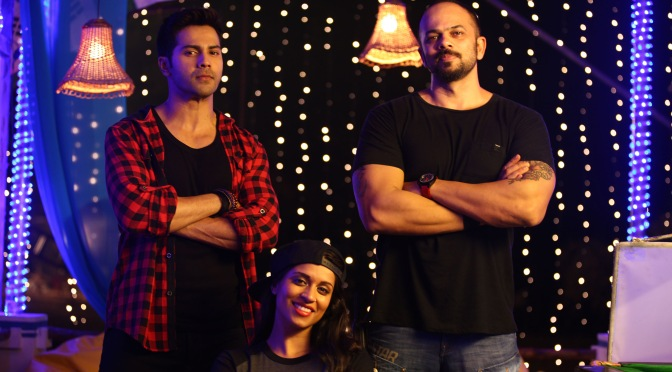 Spotted: Superwoman meets Varun Dhawan and Rohit Shetty