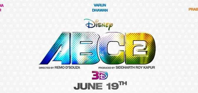 Poster: Disney's #ABCD2 featuring Varun Dhawan & Shraddha Kapoor