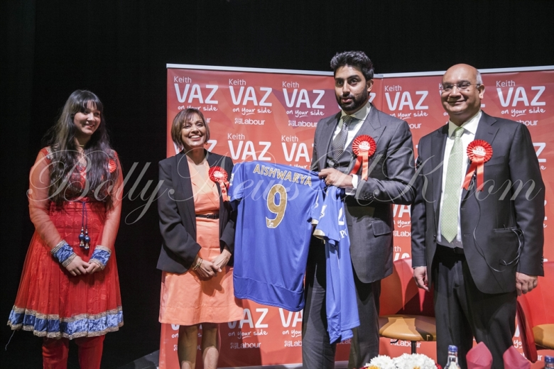 Abhishek Bachchan in Leicester (1)