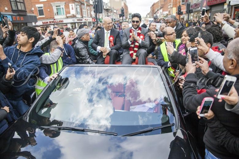Abhishek Bachchan in Leicester (2)