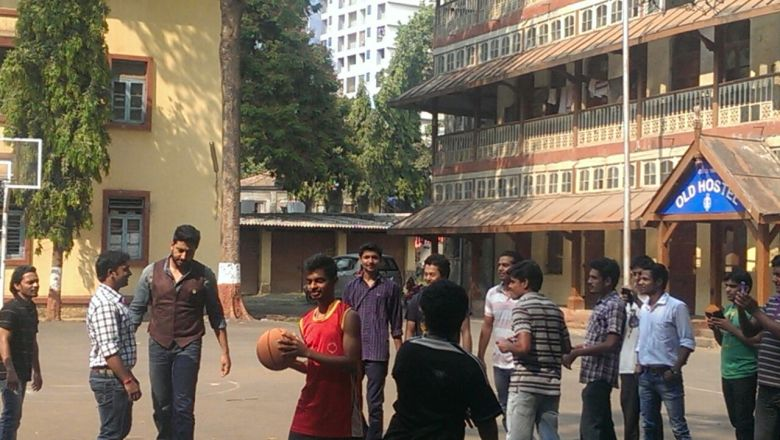 Abhishek plays Basketball (1)
