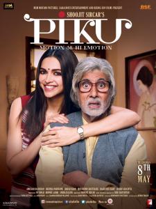 Deepika and Amitabh Bachchan in Piku