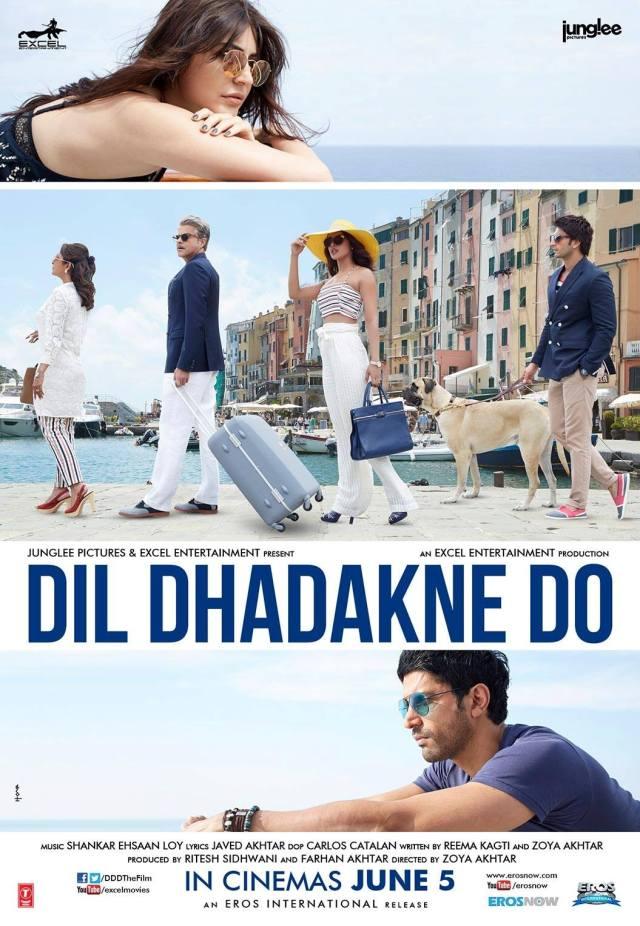 Dil Dhakane Do UK Release Eros International (2)