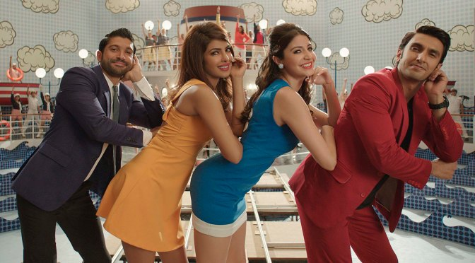 "Farhan Akhtar & Priyanka Chopra Come Together For The First Time To Lend Vocals For ""Dil Dhadakne Do"" Title Track"