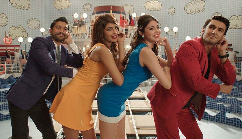 Farhan, Priyanka, Anushka, Ranveer