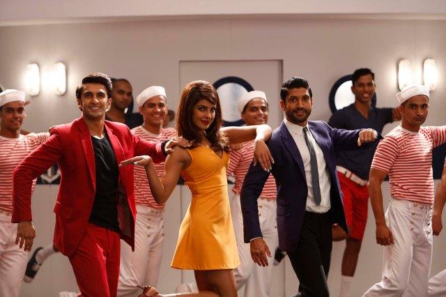 Ranveer, Priyanka, Farhan