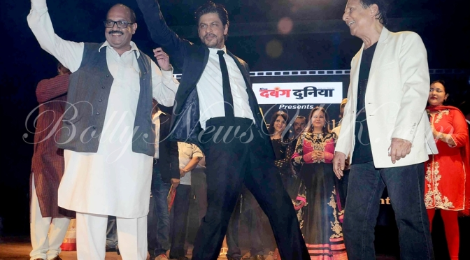 SRK honoured with the Dadasaheb Phalke Film Foundation Award