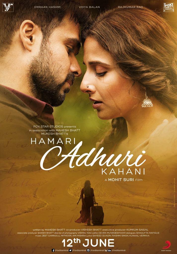 Hamari Adhuri Kahani - UK Release
