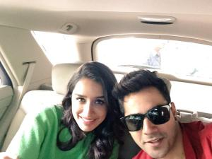 Varun and Shraddha