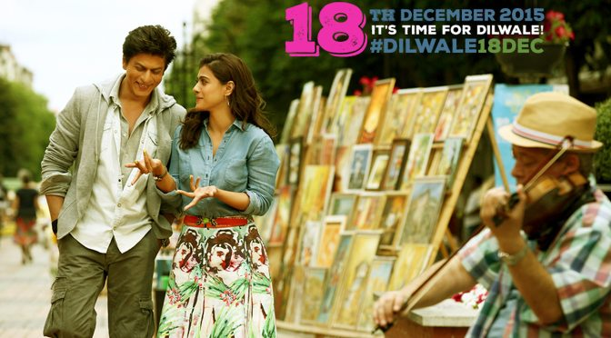 Shah Rukh Khan's #Dilwale Set To Release On 18th December