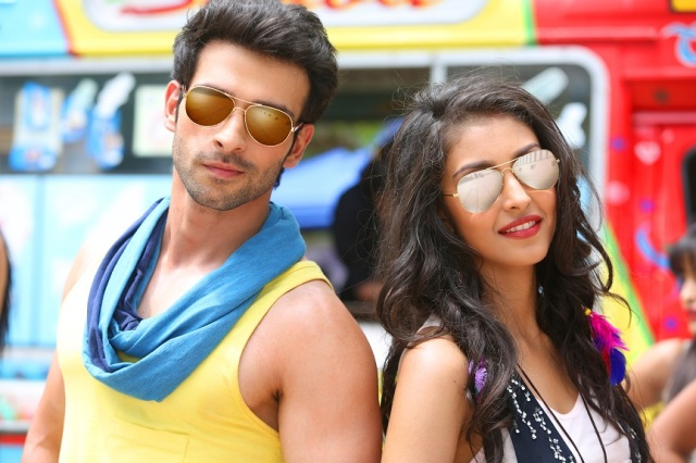 Girish Kumar and Navneet Kaur Dhillon in a still  from the film, Love Shuda