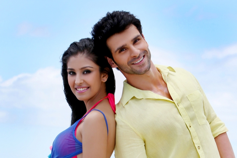 Girish Kumar and Navneet Kaur Dhillon in a still from the film, Love Shuda
