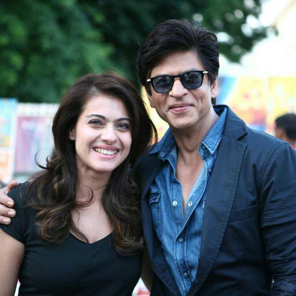 Shah Rukh Khan and Kajol in Dilwale