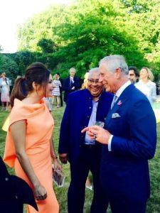 Kanika Kapoor and Prince Charles