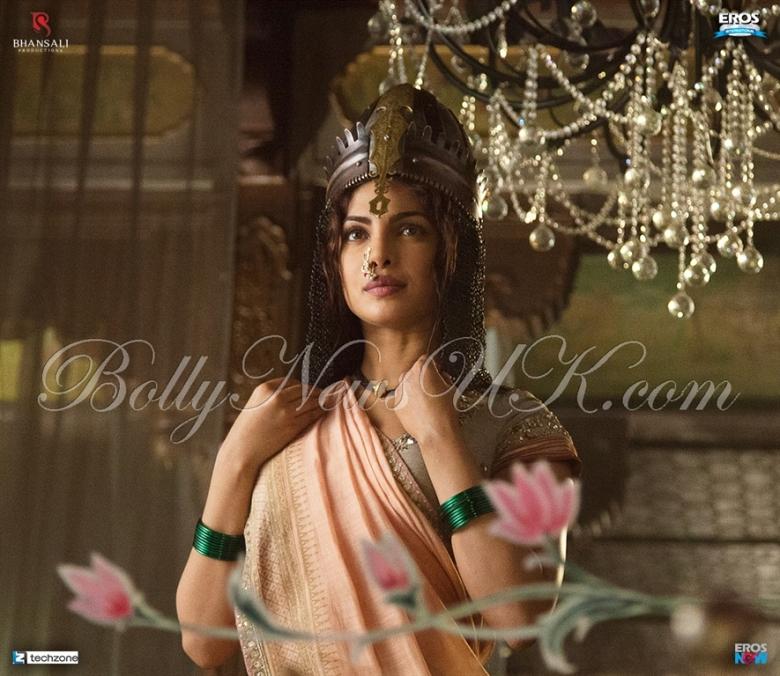 Priyanka in Bajirao  Mastani UK Release