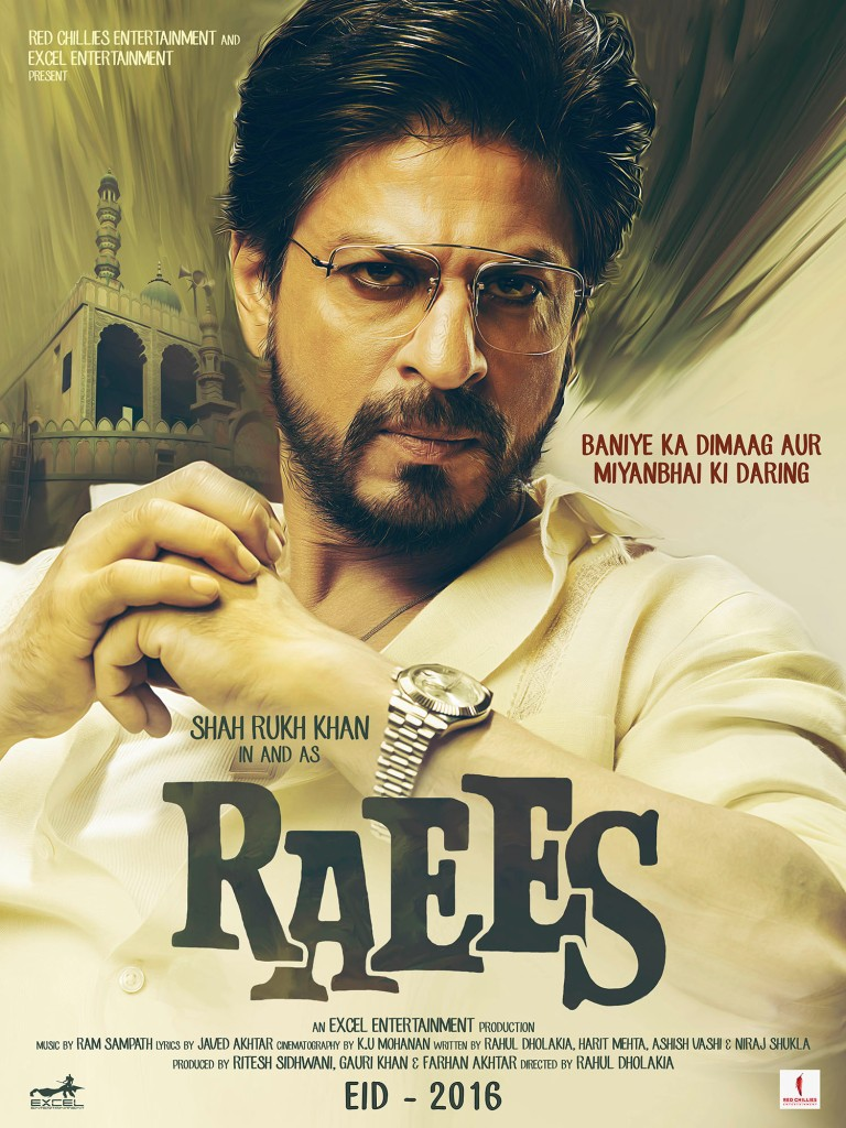 Raees Poster UK Release Red Chillies Entertainment (1)