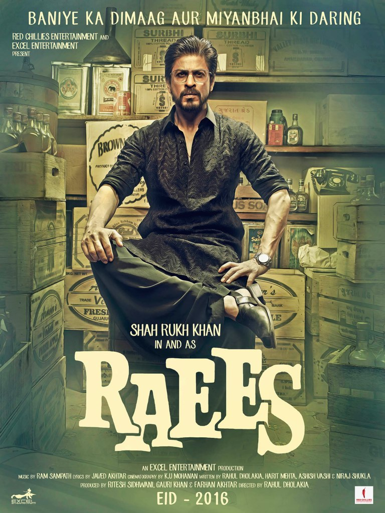 Raees Poster UK Release Red Chillies Entertainment (2)