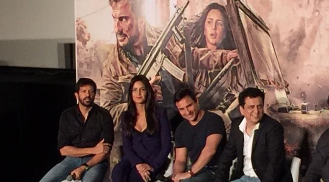 Trailer & Synopsis: Katrina Kaif & Saif Ali Khan in 'PHANTOM'