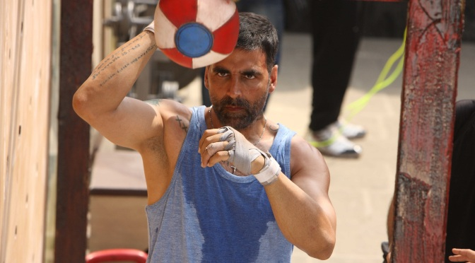 Akshay Kumar gets dizzy again for the Global Goals campaigns challenge