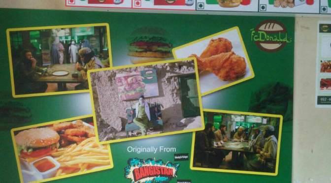 'Bangistan' team launches ficitional restaurant 'FcDonalds'