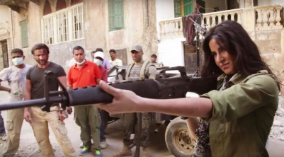 Katrina firing guns in Phantom