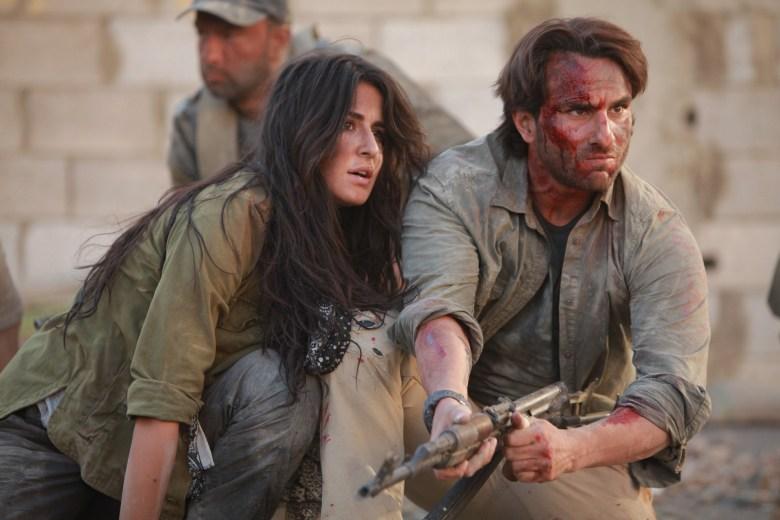 Katrina Kaif & Saif Ali Khan in Phantom