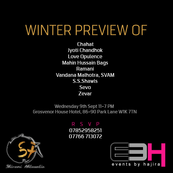 Winter Preview flyer