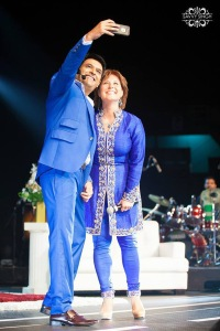 Kapil Sharma with Christy Clark, the current Premier of British Columbia