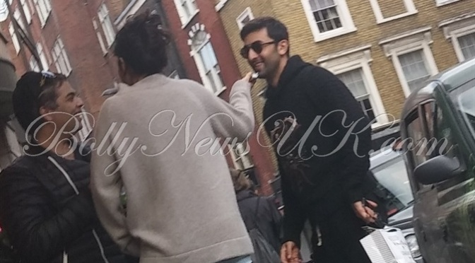 Exclusive: Karan Johar, Katrina Kaif and Ranbir Kapoor spotted in London
