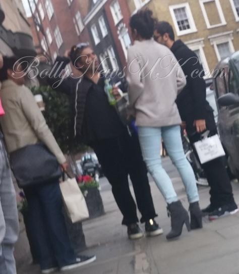 Karan Johar, Ranbir Kapoor, Katrina Kaif in London - Ae Dil Hai Mushkil (2)