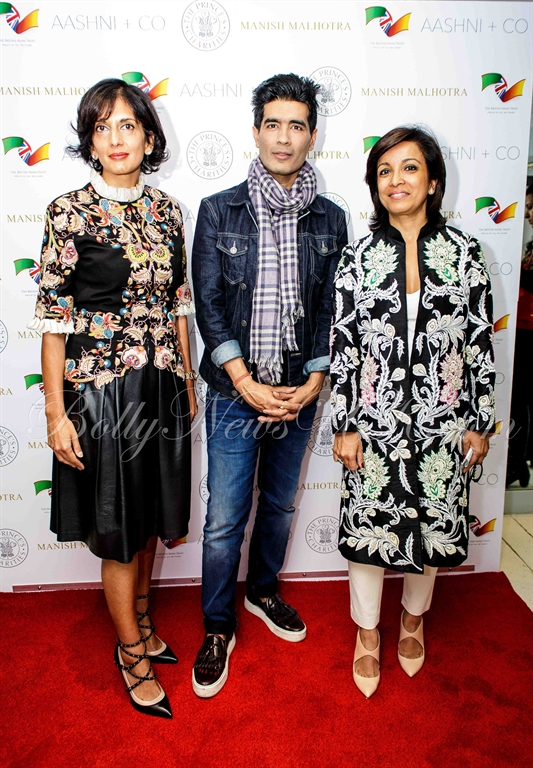 L to R - Shalni Arora, wife of B & M CEO Simon Arora & Shakiba Rangoonwala, wife of Asif Rangoonwala