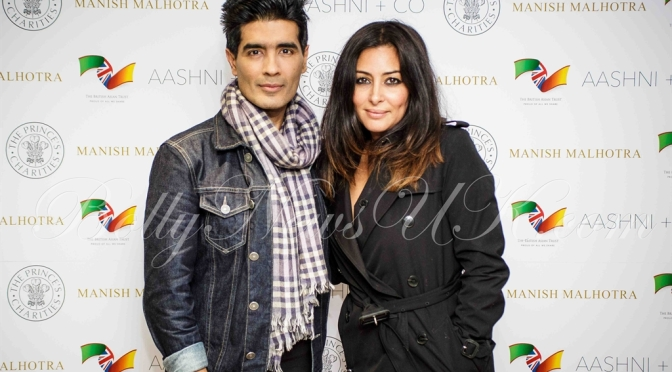 Photos: The British Asian Trust welcomes Manish Malhotra at Aashni + Co