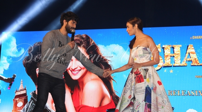 Photos: Alia Bhatt, Shahid Kapoor launch 'Shaam Shaandar'
