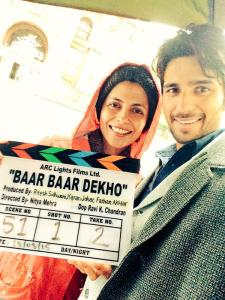 Sidharth and Nitya Mehra for Baar Baar Dekho