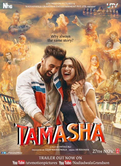 Tamasha First Look