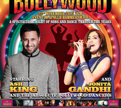 Absolute Bollywood Live presents 50 Years of Bollywood in London