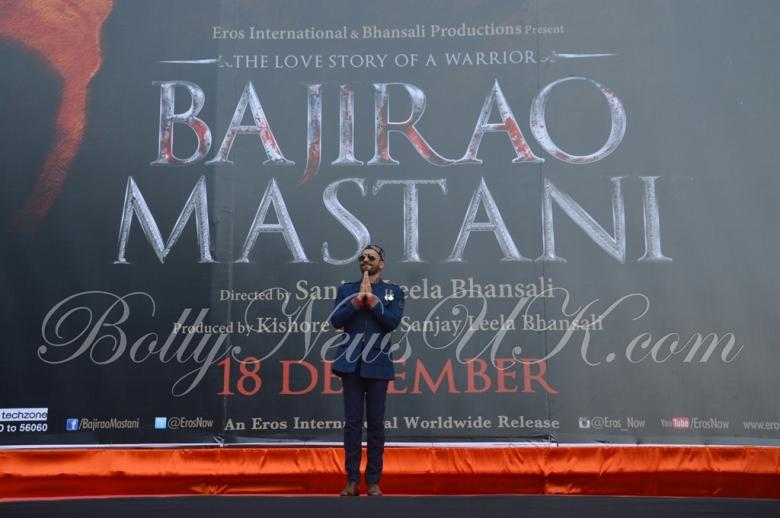 Bajirao Mastani -Ranveer Singh poster launch (4)
