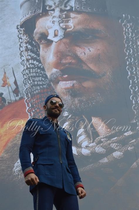Bajirao Mastani -Ranveer Singh poster launch (6)