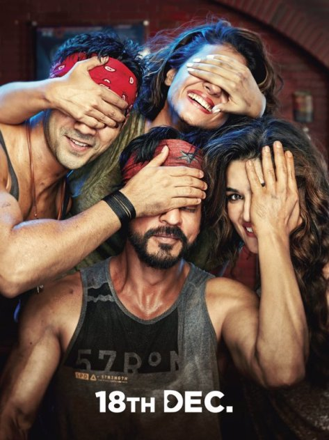 Dilwale Sneak Peek poster