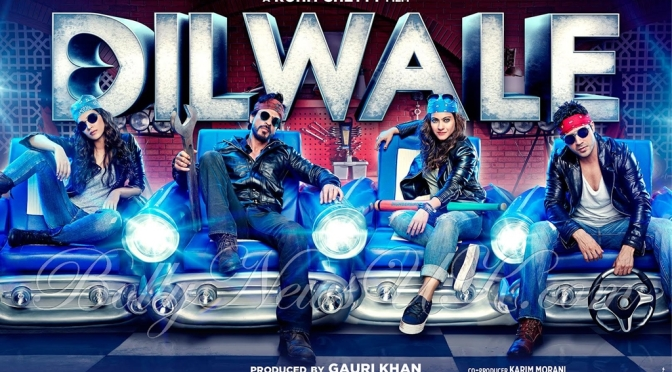 Dilwale is coming to UK cinemas on 18th December