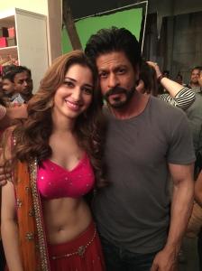 Shah Rukh and Tamannaah
