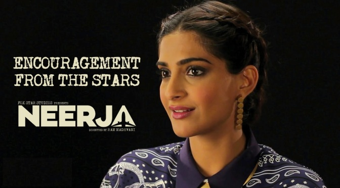 Watch: The making of Neerja; Encouragement from the Stars