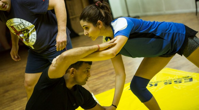 Anushka Sharma Wrestles for 6 Weeks To Prepare for 'Sultan' Shoot‏