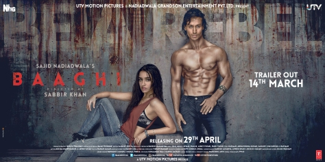 BAAGHI OFFICIAL POSTER